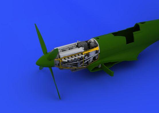 Spitfire Mk.VIII motor 1/48  - 5