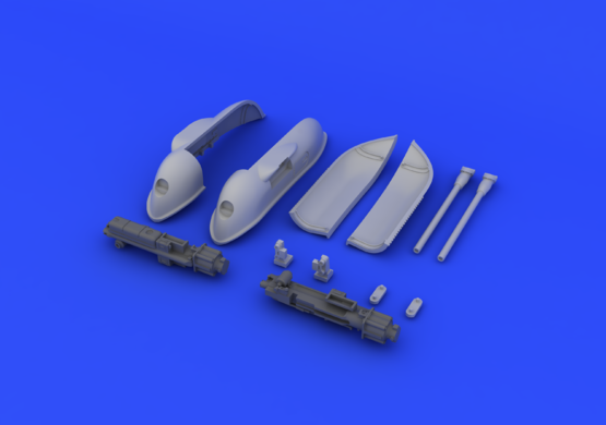 Bf 109 cannon pods 1/48  - 5