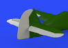 Bf 109F control surfaces 1/48 - 5/6