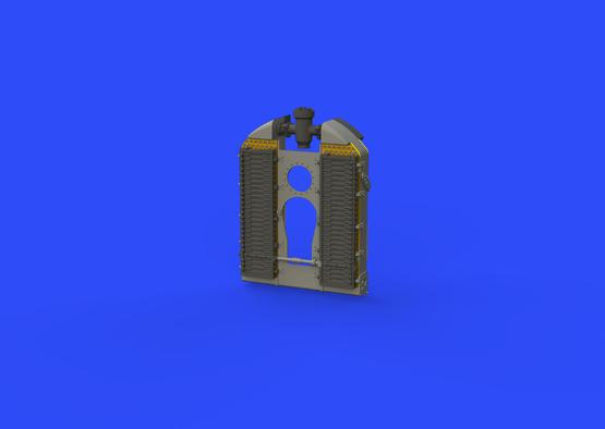 SE.5a radiator - Wolseley Viper 1/48  - 5
