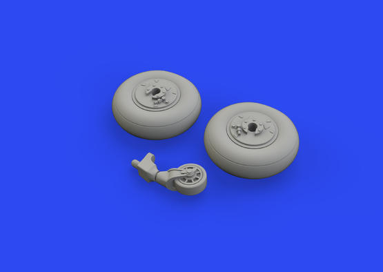 Ki-61-Id wheels 1/48  - 5