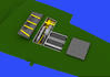 Spitfire Mk.IXe zbraňové šachty 1/48 - 5/7