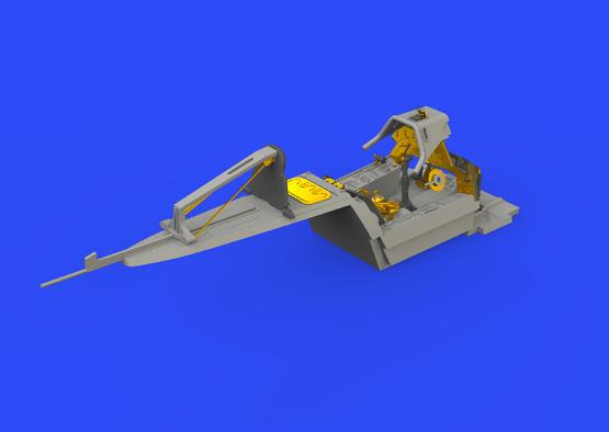Fw 190A-3 кабина 1/48  - 5