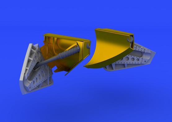 MiG-15 airbrakes 1/72  - 5