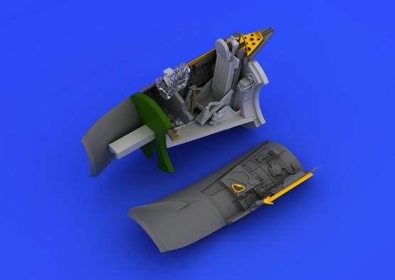 MiG-15 cockpit 1/72  - 5