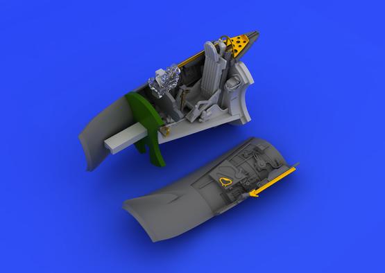 MiG-15bis cockpit 1/72  - 5
