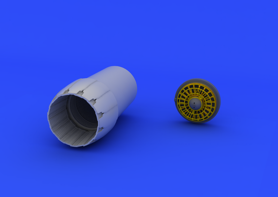 F-16CJ Block 50 exhaust nozzle 1/72  - 5
