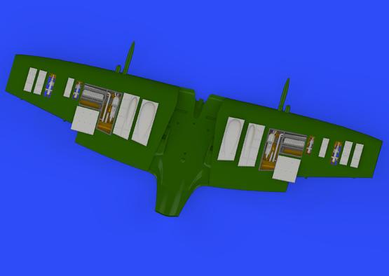 Spitfire Mk.IXc gun bays 1/72  - 5