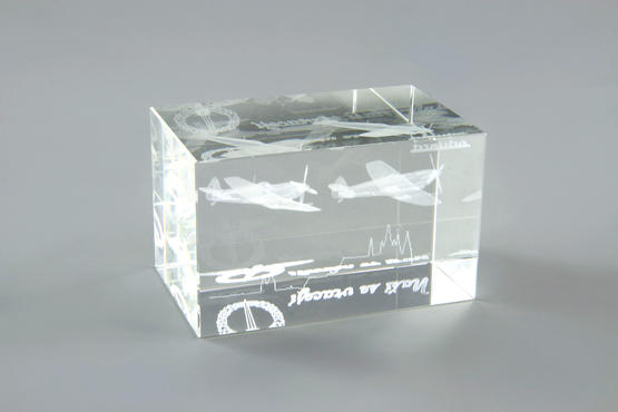"Glass block ""Nasi se vraceji""  - 5"