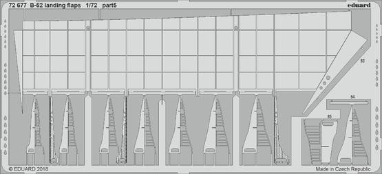 B-52 vztlakové klapky 1/72  - 5