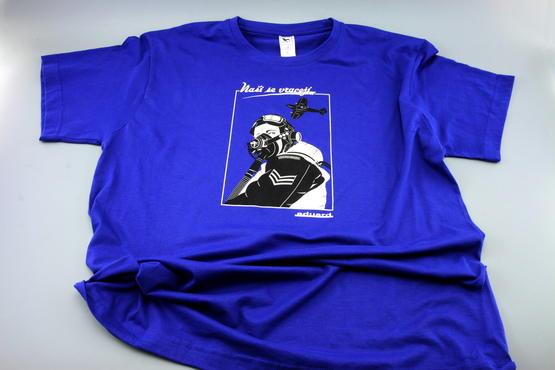 "T-shirt Spitfire pilot ""Nasi se vraceji"" (XXL)  - 5"