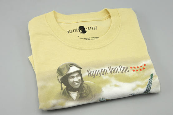 T-shirt MiG-21PFM (XL) - Rezavá Vrtule  - 5