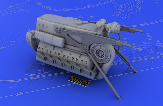 DB 601A/N engine  1/32 1/32  - 6