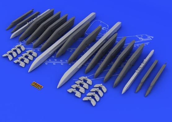 Su-25K wing pylons 1/48  - 6
