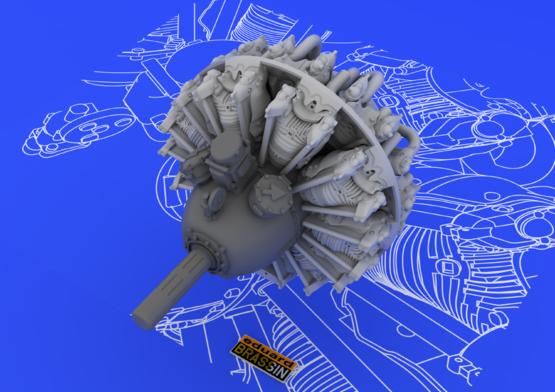 R-2800-10 engine 1/48  - 6