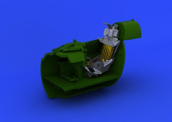MiG-21PF vystřelovací sedačka 1/48  - 6