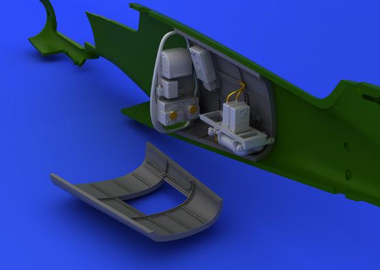 Bf 109G radio compartment 1/48  - 6