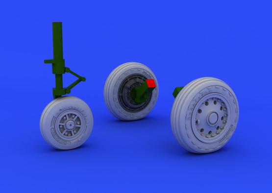 F-104 undercarriage wheels early 1/48  - 6