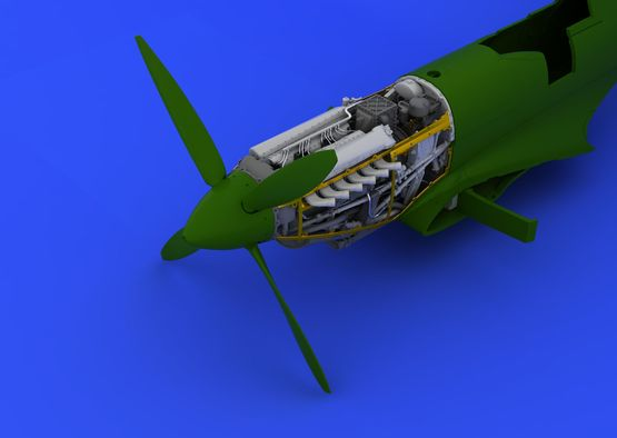 Spitfire Mk.VIII motor 1/48  - 6