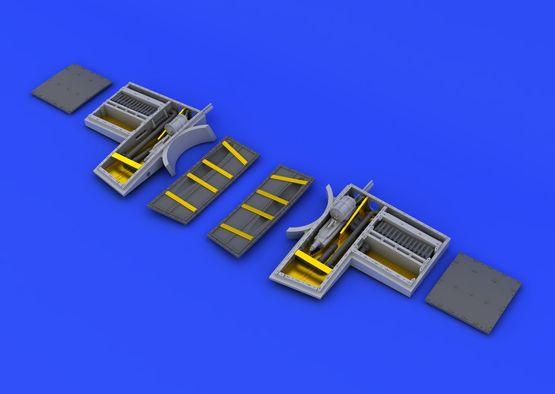 Spitfire Mk.VIII zbraňové šachty 1/48  - 6
