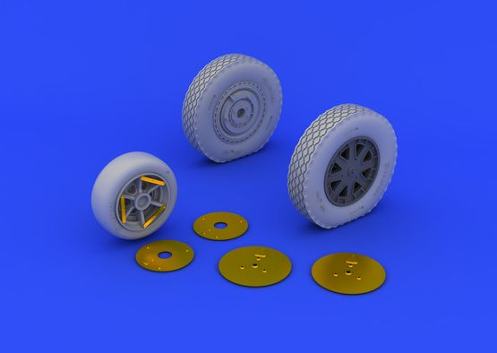 P-39 wheels late 1/48  - 6