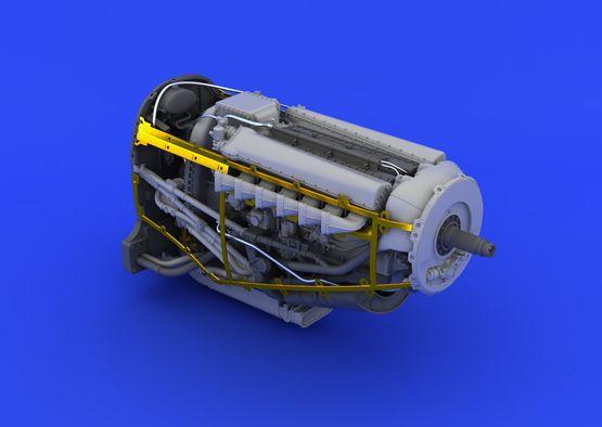 Spitfire Mk.XVI engine 1/48  - 6
