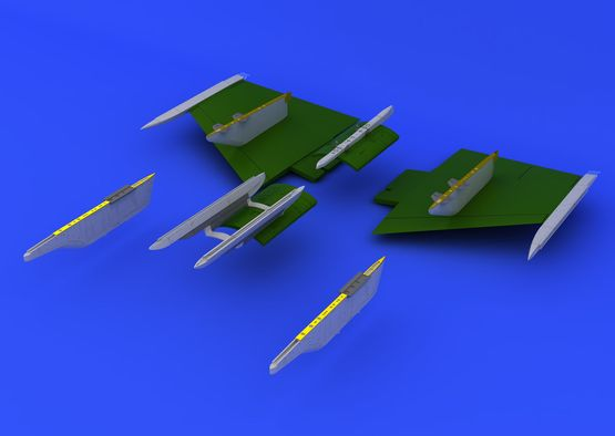 F-104 pylons 1/48  - 6