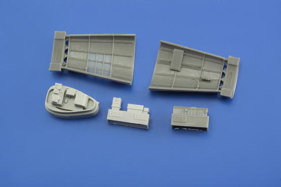 Bf 109G-6 radio compartment 1/48  - 6