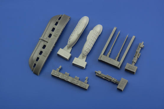 Bf 109 cannon pods 1/48  - 6