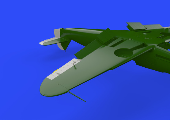 Bf 109F control surfaces 1/48  - 6