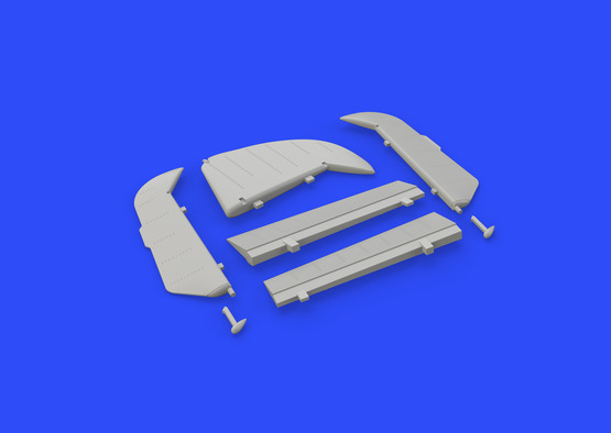 Bf 109G control surfaces 1/48  - 6