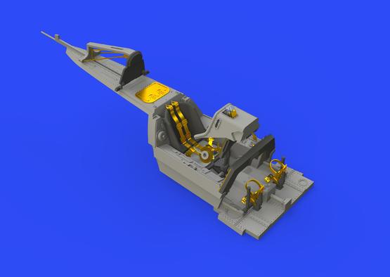 Fw 190A-3 кабина 1/48  - 6
