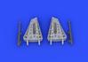 MiG-15 airbrakes 1/72 - 6/6