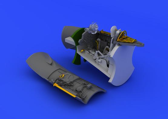 MiG-15 cockpit 1/72  - 6