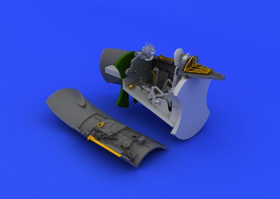 MiG-15bis cockpit 1/72  - 6