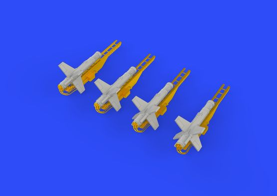 Falanga 9M17P rakety 1/72  - 6