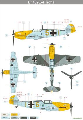 Bf 109E-4  1/48 1/48  - 6