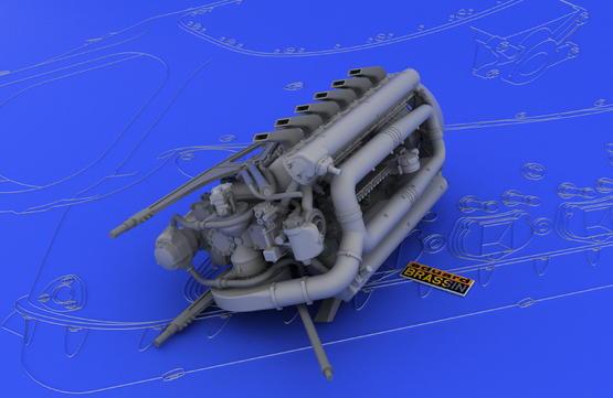 DB 601A/N engine  1/32 1/32  - 7