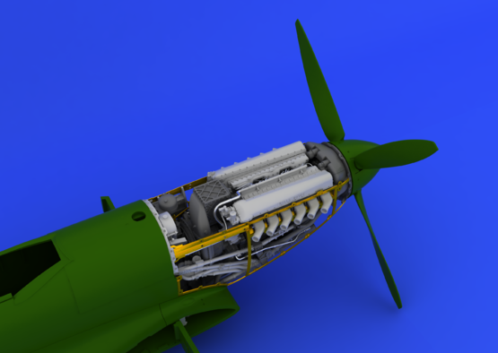Spitfire Mk.IX motor 1/48  - 7