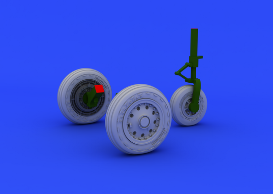 F-104 undercarriage wheels early 1/48  - 7