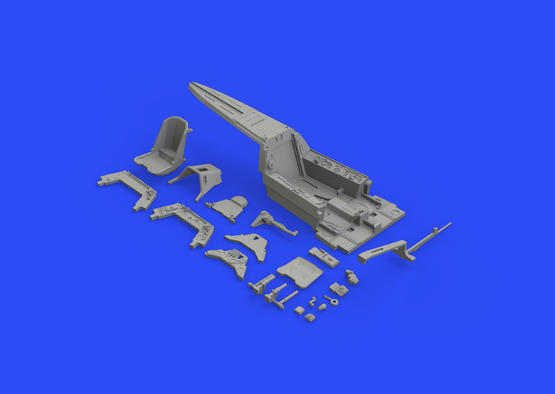 Fw 190A-3 кабина 1/48  - 7