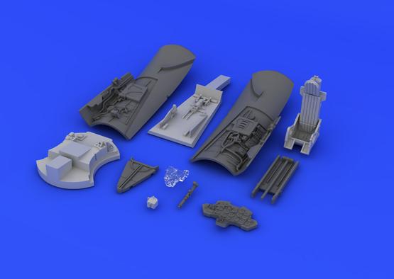 МиГ-15бис кабина 1/72  - 7