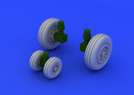 JAS-39 wheels 1/72  - 7