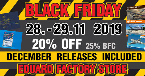 BLACK FRIDAY at Eduard's webstore!