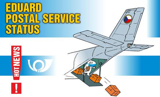 EDUARD POSTAL SERVICE STATUS