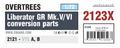 Liberator GR Mk.V/VI conversion parts OVERTREES 1/72