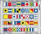 Mezinárodní námořní vlajková abeceda OCEL 1/200
