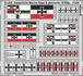 Kaiserlische Marine flags & pennants STEEL 1/350