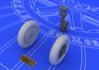 Bf 109E wheels 1/48
