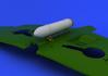 Spitfire přídavná nádrž válcová 1/48